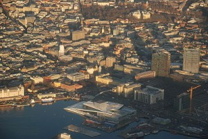 Oslo from the air